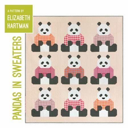 EH064 Pandas in Sweaters