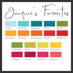 Jacquie's Favorites Color Swatch