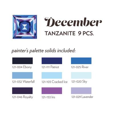 December Tanzanite MJ Kinman