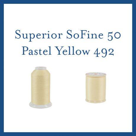 SoFine 50 492 Pastel Yellow