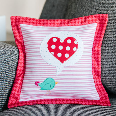 Love Notes Little Birdie Pillow